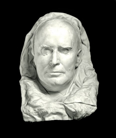 White death mask for William McKinley