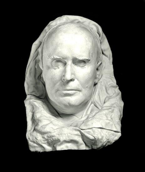 White death mask for William McKinley