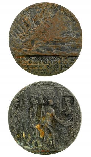 Medal, both sides