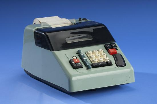 Photo of adding machine
