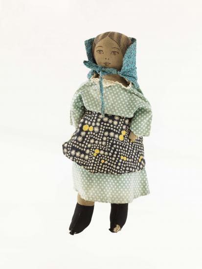 "Photograph of ""Nancy Hanks"" doll, 1930s."
