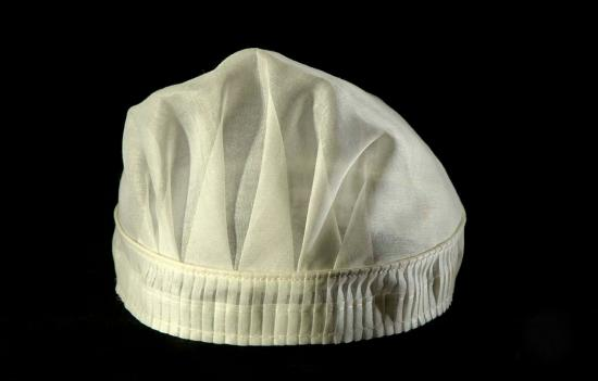 White nurses cap