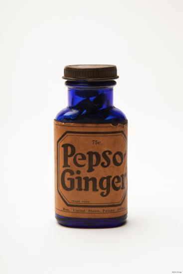 Bottle of Pepso Ginger