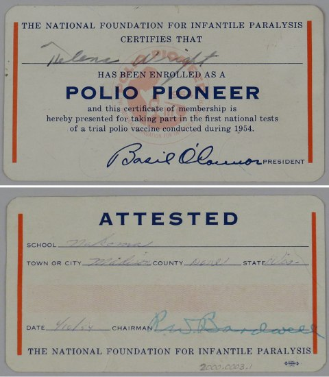polio vaccine made in time to save millions of americans Polio used to be very common in the us and caused severe illness in thousands of people each year before polio vaccine was introduced.