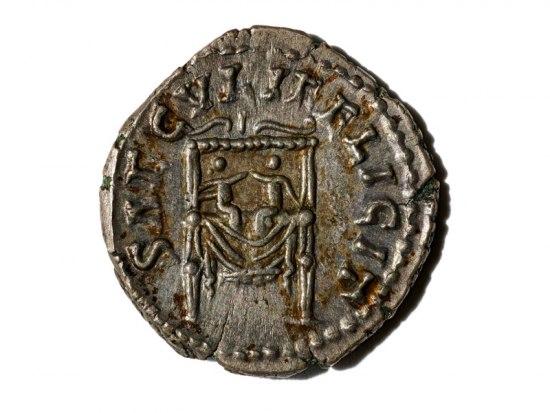 Denarius Coin, Rome, 161–176 C.E.