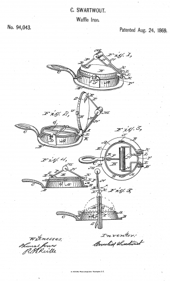 A black and white technical picture depicting a device from multiple angles.