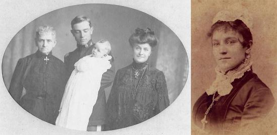 Four generations of Wileys, including Mittie. Family photos courtesy of Bill Brown.