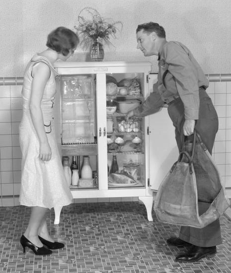 1920s icebox
