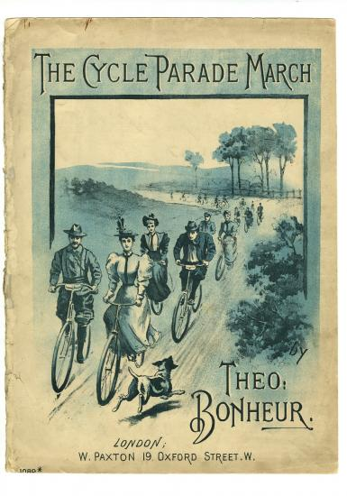 The Cycle Parade March sheet music cover