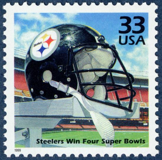 Steelers stamp