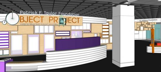 "Rendering of ""Patrick F. Taylor Foundation Object Project"""
