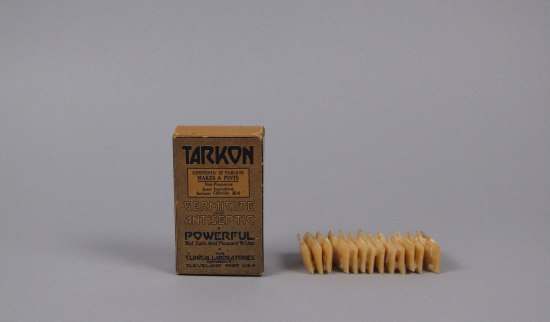 Tarkon Germicide and Antiseptic container