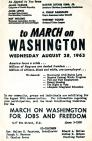 Organizers Distributed Thousands of Flyers Calling Protestors to Washington (NMAH)