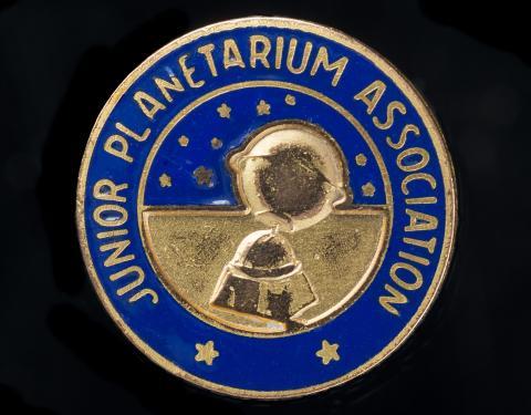 Junior Planetarium Association pin