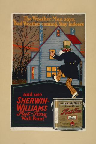 Sherwin-Williams advertisement, NYPL