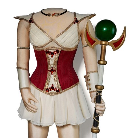 Codex costume and staff, as worn by Felicia Day in The Guild