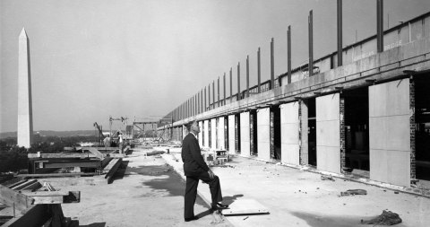 Frank A. Taylor examines the construction of the National Museum of History