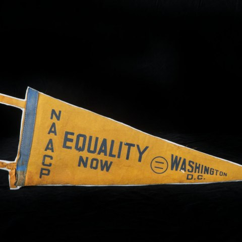 March Pennant (NMAH, gifts of Gregory Wilson and Lynn Shapiro)