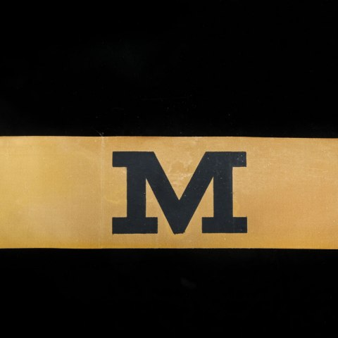 Official March Marshal Armband (NMAH, gift of Robert Brown)