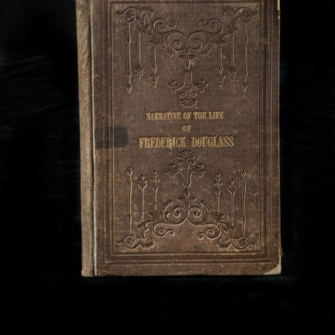 Narrative of the Life of Frederick Douglass (National Museum of African American History and Culture, gift of Elizabeth Cassell)