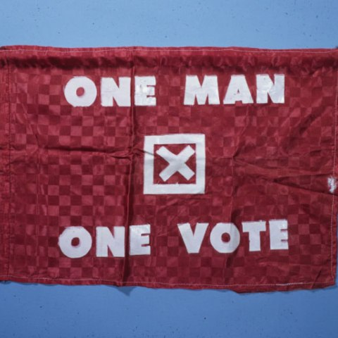 Selma March Banner for Voting Rights