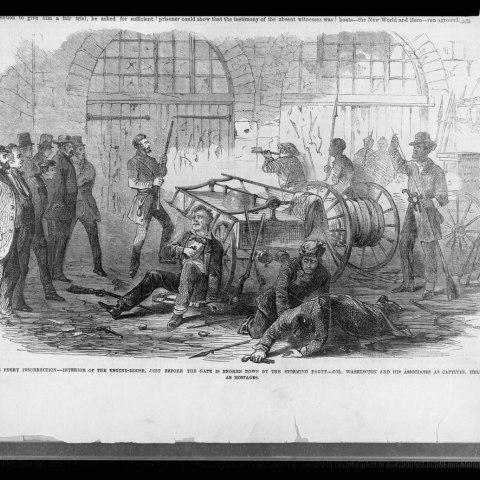 John Brown's Raid on Harper's Ferry, 1859 (Library of Congress)