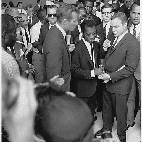 Hollywood Stars among the Crowds (U.S. National Archives and Records Administration)