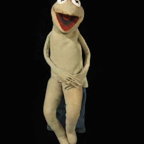 "Kermit from ""Sam and Friends"""