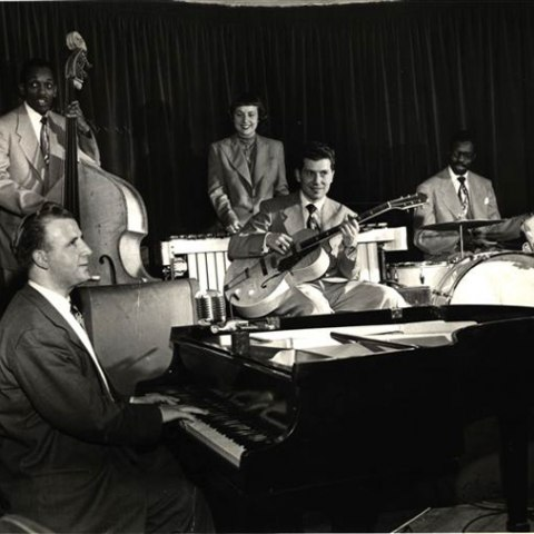 Photograph of jazz band