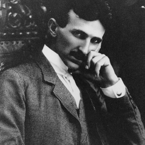 Nikola Tesla, 1880