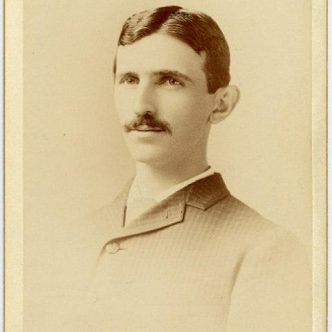 Nikola Tesla, 1888