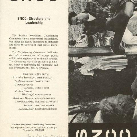 SNCC Brochure