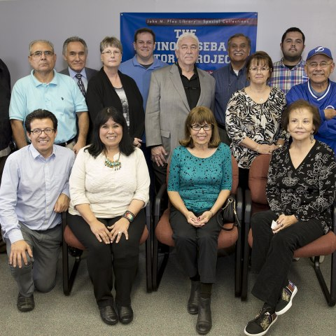 Latinos and Baseball project team
