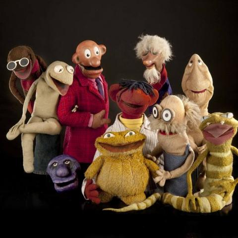 Group of Henson puppets