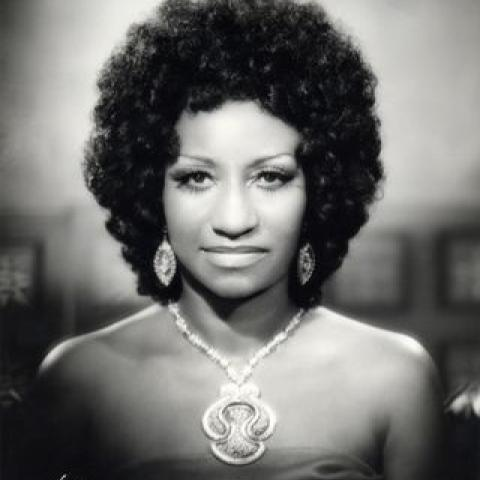 Celia Cruz Portrait
