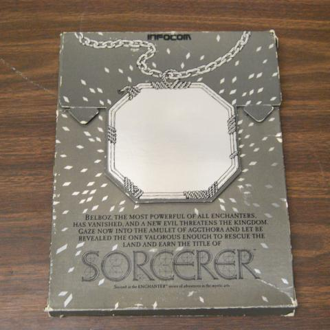 "Packaging for the game ""Sorcerer"""