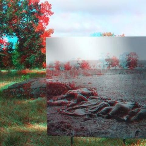 Historic 3D photos can act as windows in time when employed at the spots where they were taken.