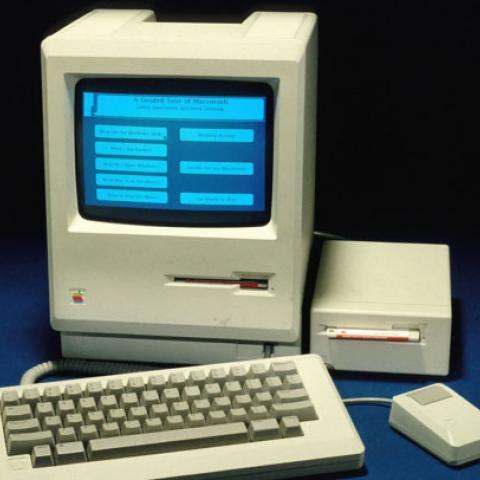 "Apple Macintosh (""classic"" 128K version), 1984"