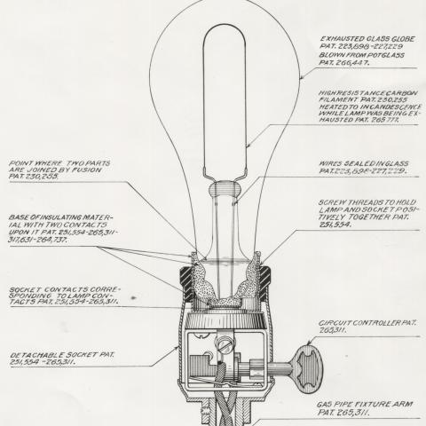Lightbulb patent