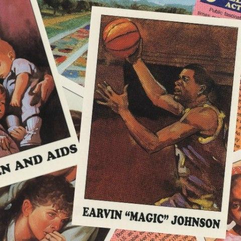 AIDS Awareness trading cards