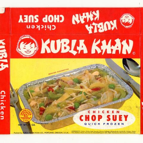 Kubla Khan Chicken Chop Suey