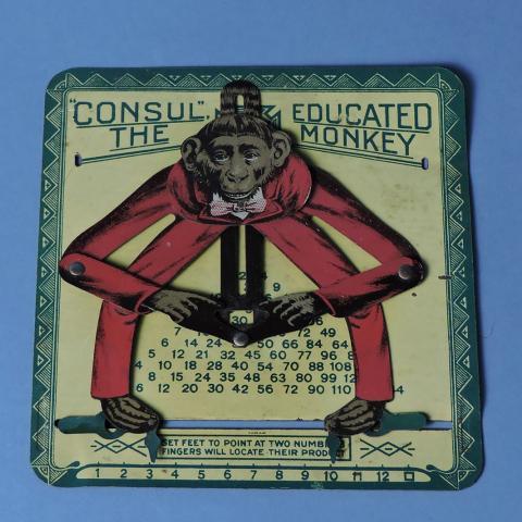 Consul the Educated Monkey, Smithsonian image AHB2015r00132. Gift of Richard Lodish.