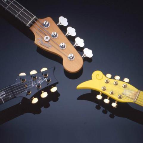 3 guitar heads