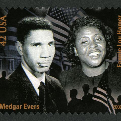 Fannie Lou Hamer postage stamp