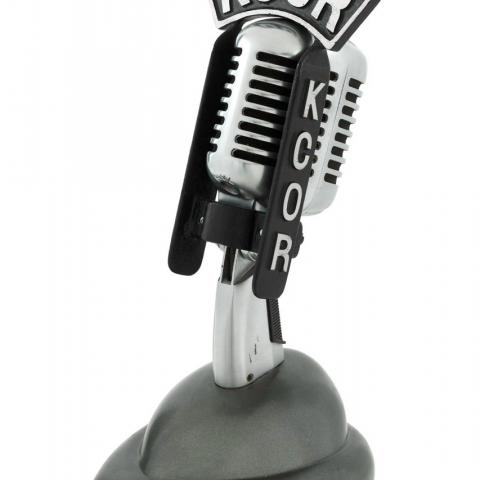 KCOR Radio Microphone, early 1950s