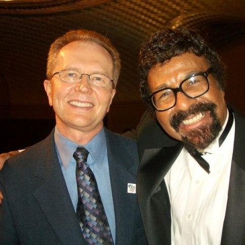 Photo of two men smiling