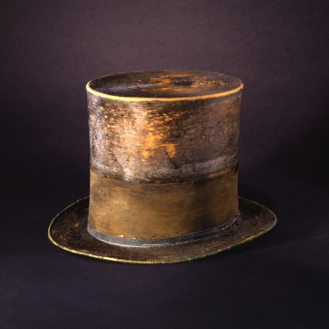 Weathered top hat