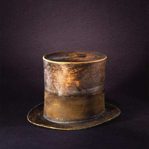 Top hat, brown