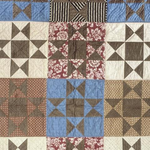 Photo of quilt panels