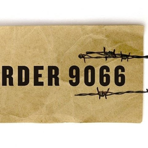 An illustration of a ticket that reads 'Order 9066'